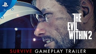 """The Evil Within 2 – """"Survive"""" Gameplay Trailer   PS4"""