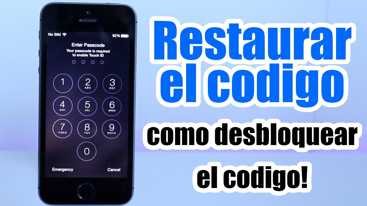 Como Desbloquear Mi Iphone 6 Con Itunes