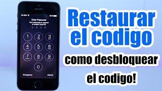 Desbloquear IPhone con Codigo / Restaurar Codigo de Seguridad / Desactivado / iPhone , iPod, iPad thumbnail