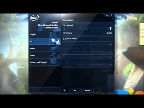 How To Boost Up Intel GMA's Performance