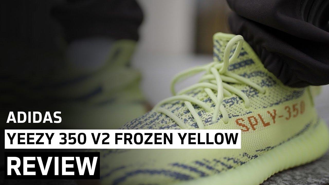 b9e35275a06 Adidas Yeezy Boost 350 v2 Frozen Yellow