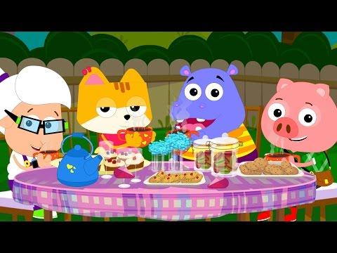 Bud Bud Buddies | Polly Put The Kettle On | Nursery Rhymes | Kids Songs | Childrens Rhymes