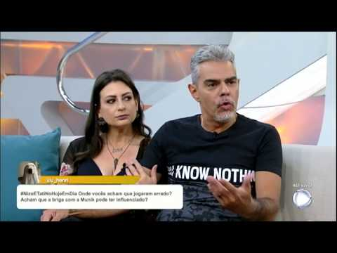 Tatí E Nizo Falam Sobre O Power Couple Brasil: