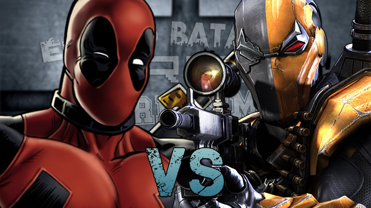 Deadpool Vs Deathstroke. Épicas Batallas De Rap Del