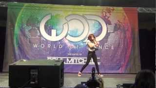 World of Dance-Hawaii 2012 (Chachi Gonzales)
