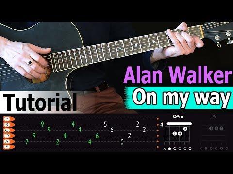 alan-walker---on-my-way-easy-guitar-tutorial