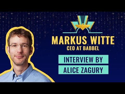 Interview with Markus Witte CEO @Babbel