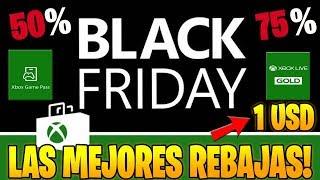 NO TE LO PUEDES PERDER ! REBAJAS PARA XBOX ONE , XBOX 360 BLACKFRIDAY REBAJAS EN JUEGOS Y MEMBRESIAS