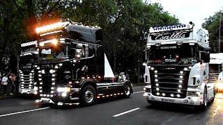 Kamionos felvonulás