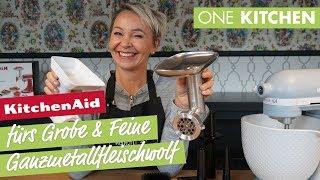 KitchenAid Ganzmetallfleischwolf 5KSMMGA - fürs Grobe und Feine | by One Kitchen