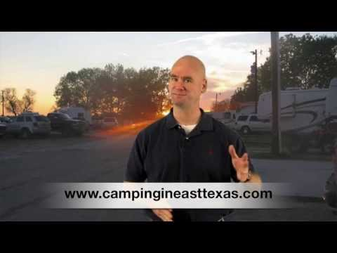 Best RV camping East Texas- Internet access while camping on Lake Palestine, Tyler Texas