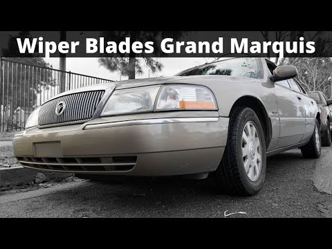 How To Replace Wiper Blades On a Mercury Grand Marquis