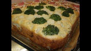 Заливной мясной пирог с сыром и грибами. Сьедается мгновенно!