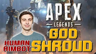 "【Apex英雄】被稱為神的玩家 人體外掛""Shroud"" Apex Legends God Human Aimbot ""Shroud"" Highlights Montage"