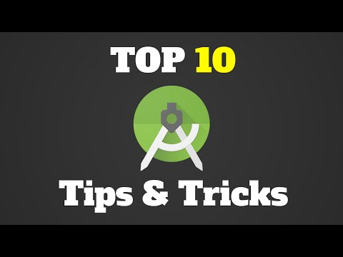 Top 10 Android Studio Tips And Tricks (YOU SHOULD KNOW!)