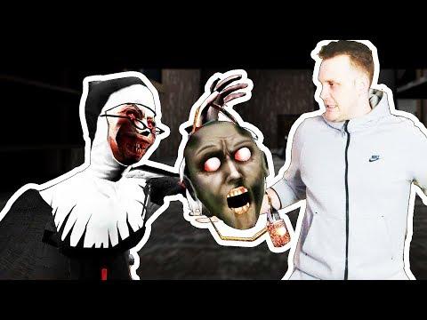 PREPALA ME VISE OD GRANNY - Evil Nun Igrica! thumbnail