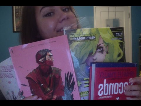ASMR Comic Book and Graphic Novel Collection Show and Tell