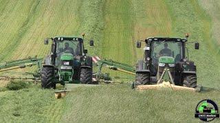 Agrar-Service HOF DEMERN / Mähen und Schwaden / Grünlandarbeiten 2015