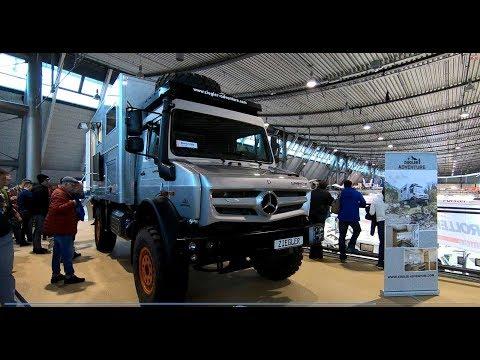 Mercedes Benz Unimog U4023 4x4 Expedition Camper vehicle Ziegler Adventure walkaround and interior