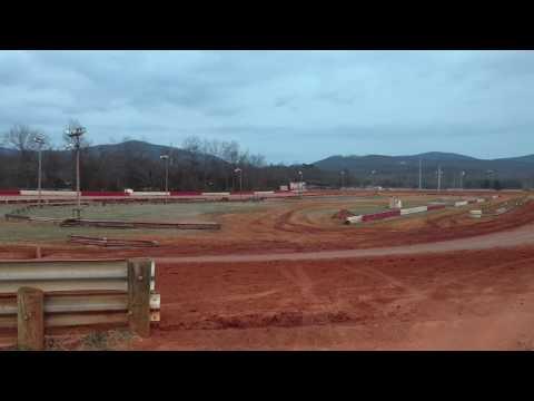 Testing at Eastside Speedway