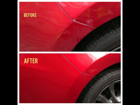 Easy Repair your Mazda 6 Sport Soul Red – DIY Remove Scratch