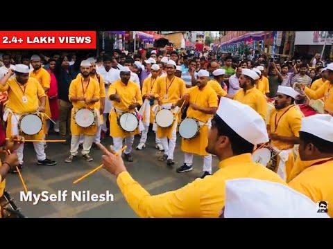 HD : Taal Dhol Tasha Pathak 2018 | Tambadi Jogeshwari | Pune Ganesh Festival