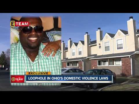 Shooting victim pushing to close domestic violence loophole
