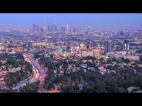 Driving Mulholland Scenic Parkway & Stopping At Overlooks