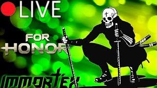 🔴[LIVE] For Honor с подписчиками! Дно тира героев