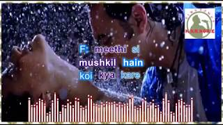 dekho naa dekho naa hindi karaoke for feMale singers with lyrics (ORIGINAL TRACK)