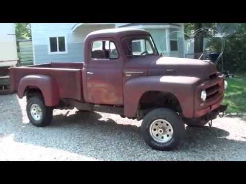 1953 International Pickup 4x4 vid1