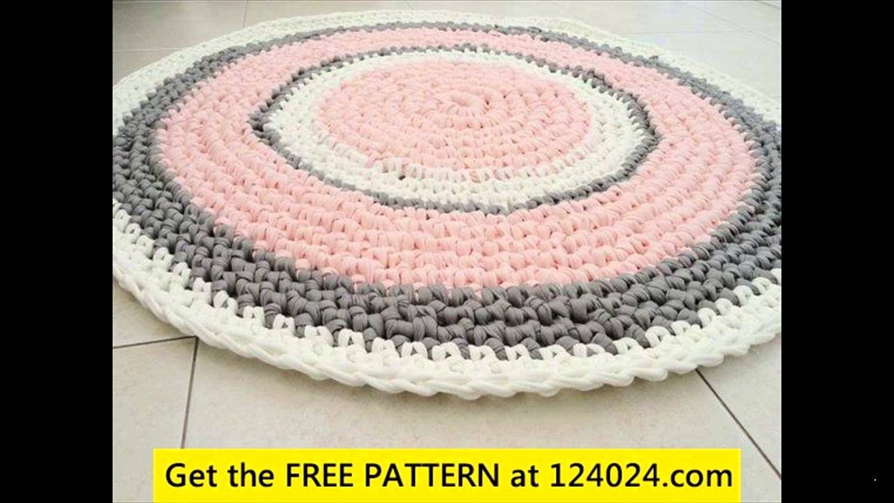 Easy Crochet Rug Patterns You