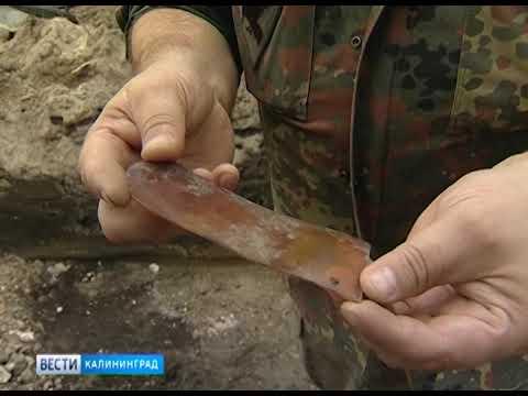 В Чкаловске обнаружены останки советских воинов