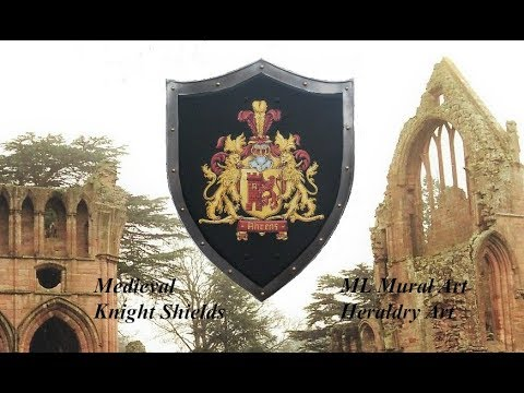 Medieval shields - Coat of Arms Medieval Knight Shields