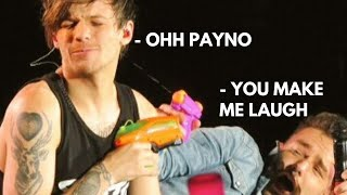 Louis and Liam acting like true brothers   One Direction