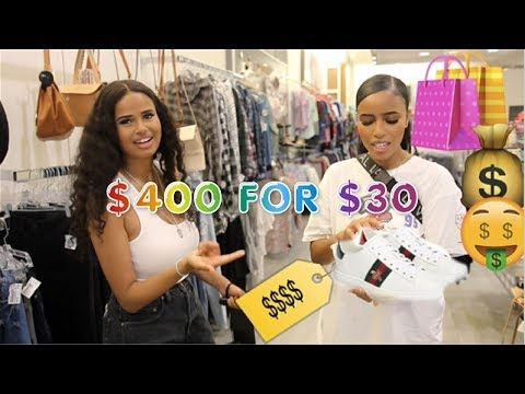 Thrift Shopping in a Rich Area: $400 DESIGNER FOR $30!!