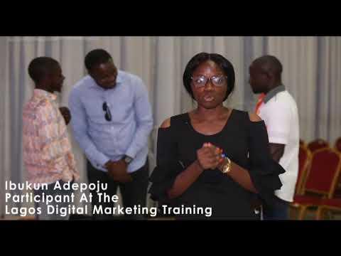 Lagos Digital Marketing Training Adepoju