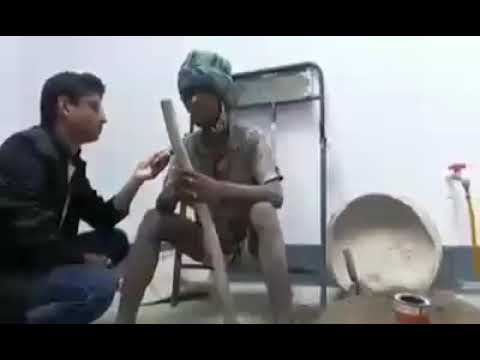 This indian poor daily worker has amazing singing talent   India Got Talent