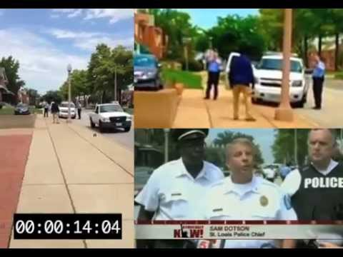 Kajieme Powell Shooting Stabilized Video with Police Chief Sam Dotson