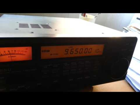 RADIO GUINEA CONAKRY-9650 KHZ