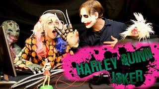 JOKER & HARLEY: Try Not To Laugh Challenge #27 [Halloween Scares]