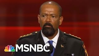 Sheriff David Clarke Allegedly Wears Fake Medals, Plagiarized Thesis | AM Joy | MSNBC
