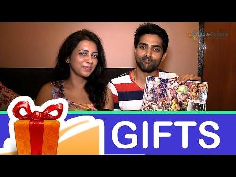 Adhvik and Neha Mahajan's gift segemnt