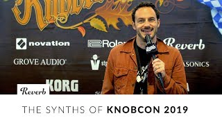 Knobcon 2019: New Products from Roland, Modal, Buchla, Erica Synths, ASM \u0026 Curious Sound | Reverb