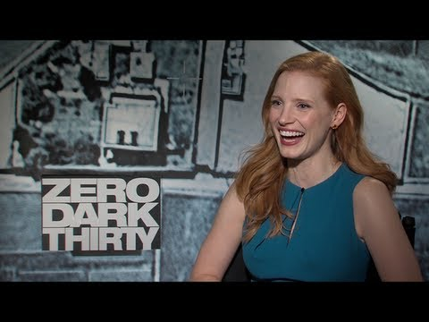 Jessica Chastain Interview for ZERO DARK THIRTY