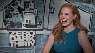 Jessica Chastain Interview for ZERO DARK THIRTY
