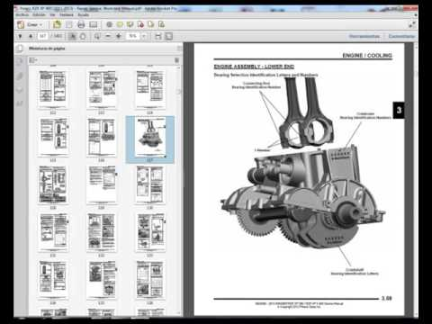 Polaris RZR XP 900 (2011-2013) - Service Manual - Wiring Diagram on