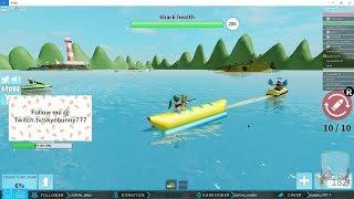 Roblox Sharkbite Banana Boat and Jetski