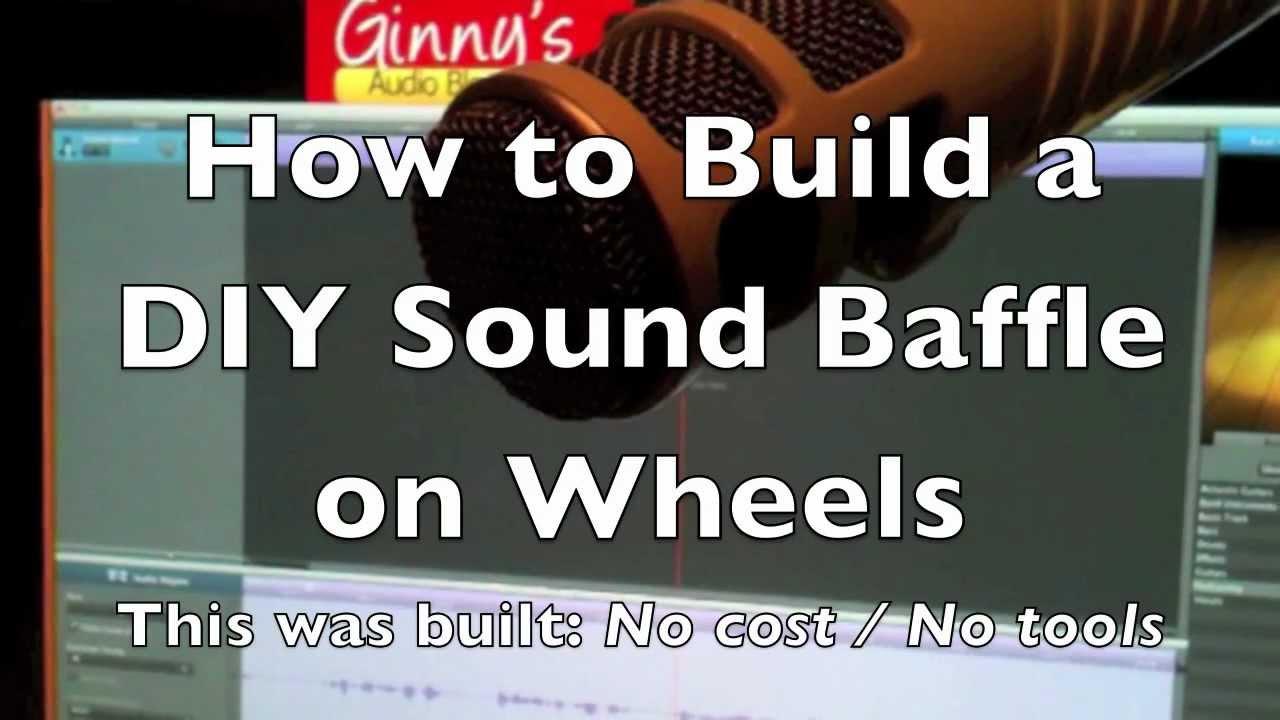 Build a DIY Portable Sound Baffle