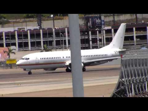 JPATS Boeing 737-400 [N416BC] Departure